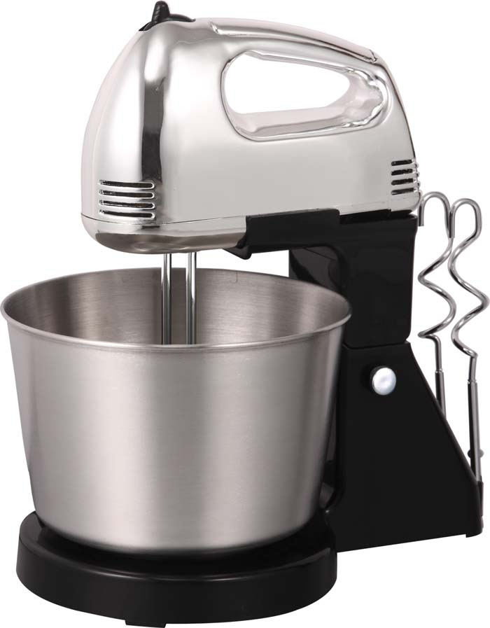 Powerful motor, hot sale design, plastic housing,kitchen use, hand mixer, egg mixer, egg beater with stainless bowl