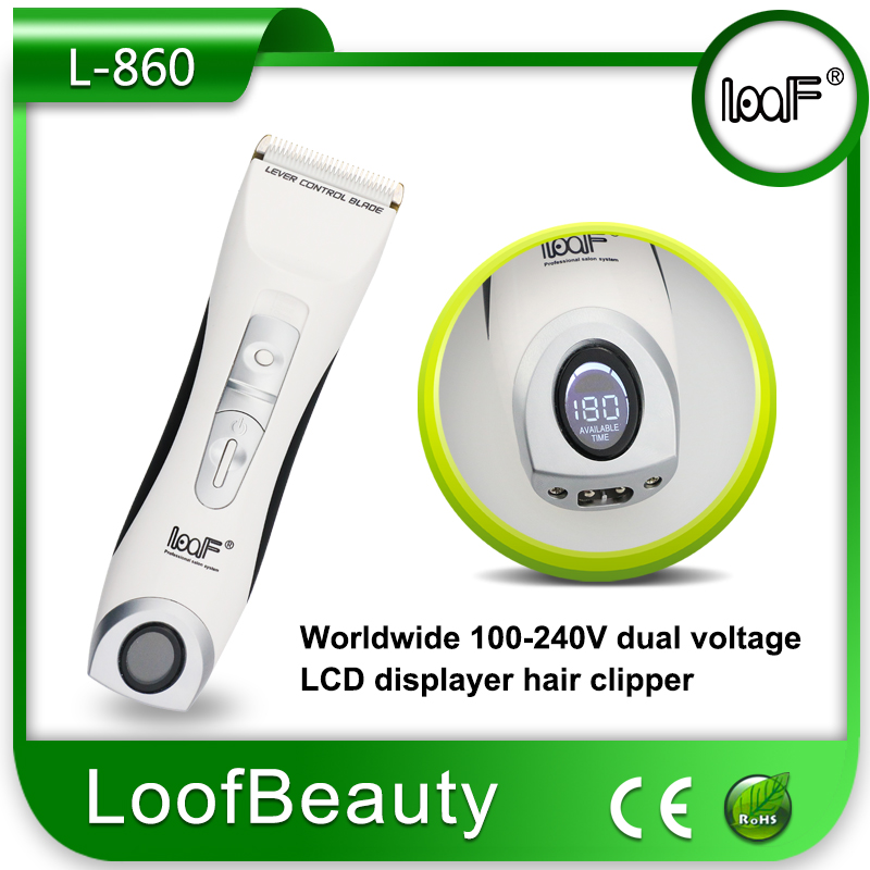 LCD Displayer Hair Clipper