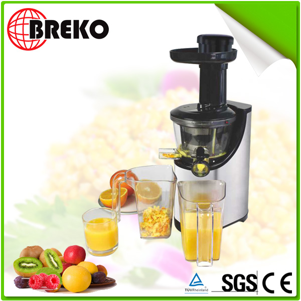 Stainless steel slow juicer with slow type auger with CB,CE,GS,REACH,RoHS,LFGB certificate