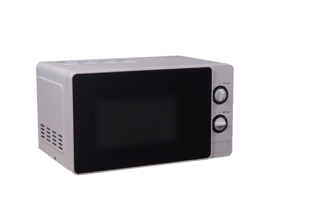 20 L Mechanical Microwave/Appearance/White Knob Control, Express Cooking