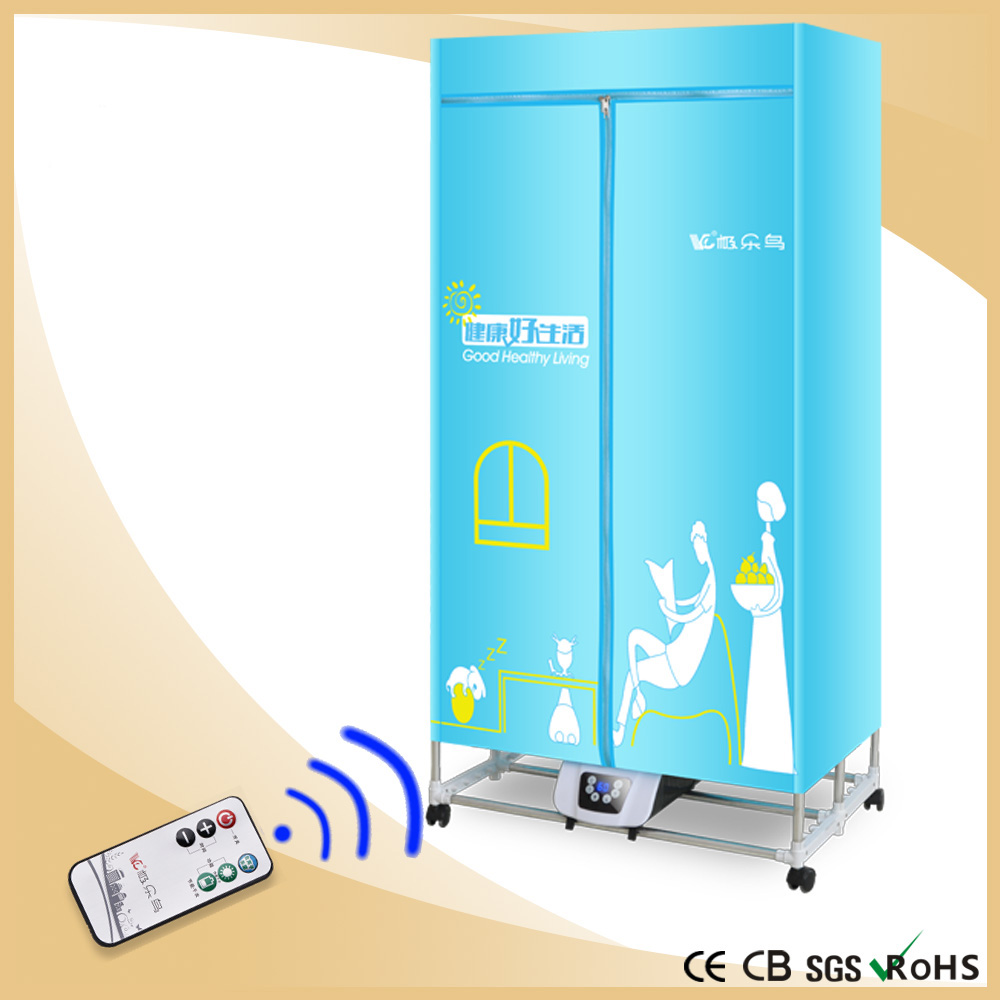 2015 NEW Portable Electric Clothes Dryer Foldable remote control