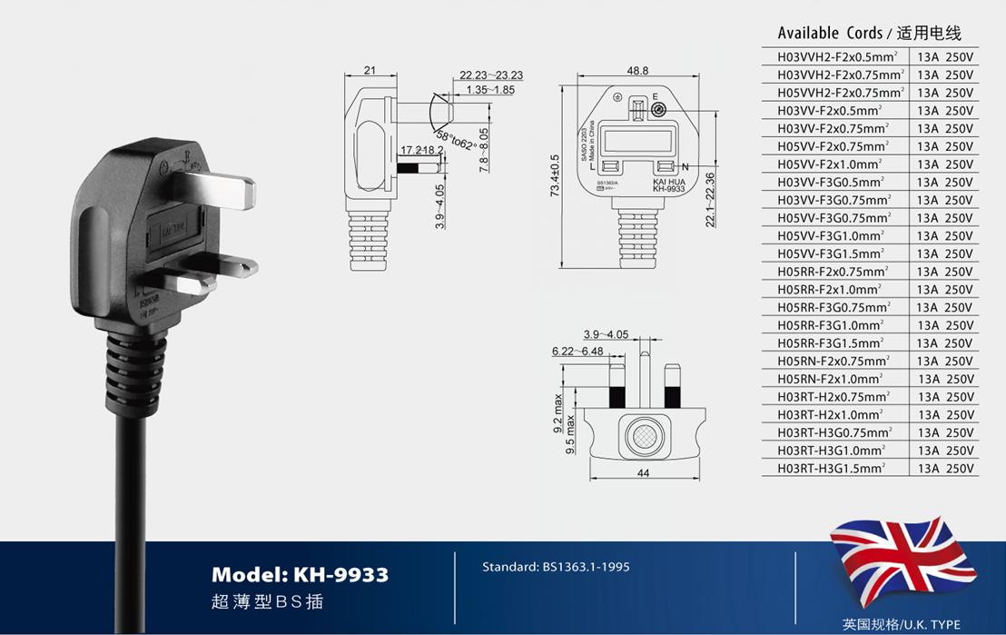 H03VV-F 系列电源线