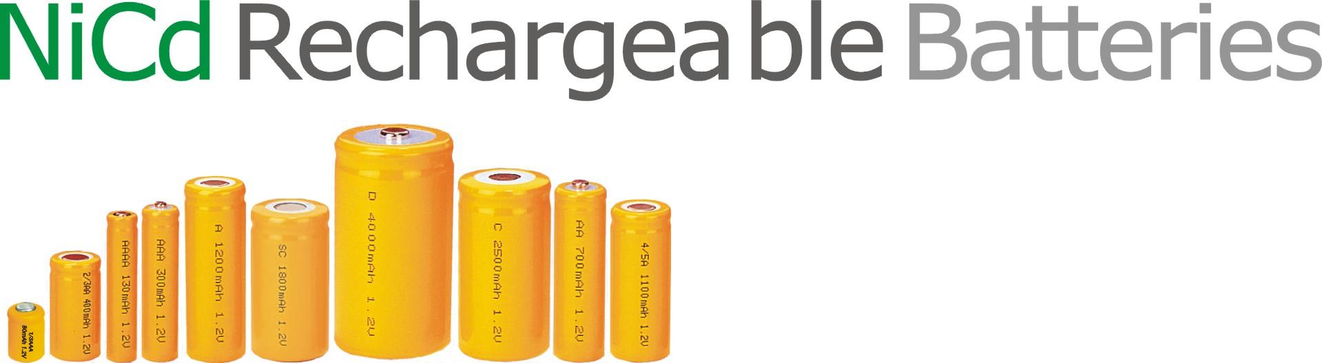 镍镉可充电电池